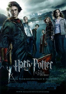 Cartel Harry Potter y el Cáliz de Fuego