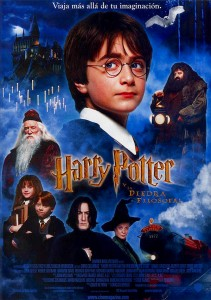 Cartel Harry Potter y la Piedra Filosofal