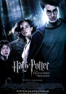 Cartel Harry Potter y el Prisionero de Azkaban